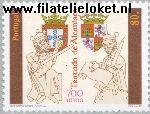 POR 2206# Postfris 1997 Verdrag van Alcañices