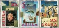 Aruba AR 110#112  1992 Ontdekking Amerika  cent  Gestempeld