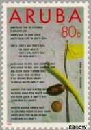 Aruba AR 124  1993 Folklore 80 cent  Gestempeld