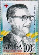 Aruba AR 174  1966 Politici 100 cent  Gestempeld