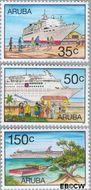 Aruba AR 197#199  1997 Cruises  cent  Gestempeld