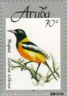 Aruba AR 215  1998 Vogels 70 cent  Gestempeld