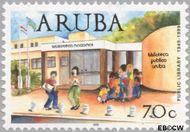 Aruba AR 235  1999 Bibliotheken 70 cent  Gestempeld