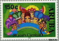 Aruba AR 315  2004 Carnaval 150 cent  Gestempeld