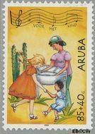 Aruba AR 325  2004 Kinderzegels 85+40 cent  Gestempeld