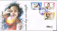 Aruba AR E133  2007 Kerst en nieuwjaar  cent  FDC zonder adres