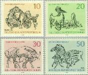 Berlin ber 338#341  1969 Dierentuin Berlijn  Postfris
