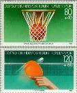 Berlin ber 732#733  1985 Sporthulp  Postfris