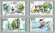 Berlin ber 868#871  1990 Max und Moritz  Postfris
