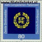 Bundesrepublik BRD 1209#  1984 Verkiezingen Europese Parlement  Postfris