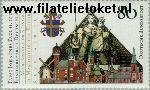Bundesrepublik BRD 1320#  1987 Paus Johannes Paulus II  Postfris