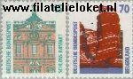 Bundesrepublik BRD 1468#1469  1990 Bezienswaardigheden  Postfris