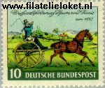 Bundesrepublik BRD 160#  1952 Dag van de Postzegel  Postfris