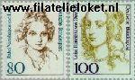 Bundesrepublik BRD 1755#1756  1994 Bekende vrouwen  Postfris