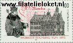 Bundesrepublik BRD 1773#  1995 Reichstag Worm  Postfris