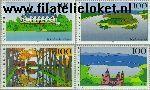 Bundesrepublik BRD 1849#1852  1996 Beelden uit Duitsland  Postfris