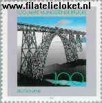 Bundesrepublik BRD 1931#  1997 Müngstener Brücke  Postfris