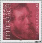 Bundesrepublik brd 2411#  2004 Feuerbach, Ludwig  Postfris