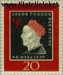 Bundesrepublik BRD 307#  1959 Fugger, Jakob  Postfris