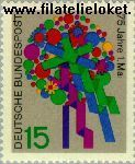Bundesrepublik BRD 475#  1965 Viering 1e Mei  Postfris