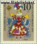 Bundesrepublik BRD 655#  1970 Marionetten  Postfris