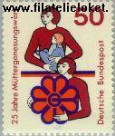 Bundesrepublik BRD 831#  1975 Moedergenezing  Postfris