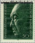 Bundesrepublik BRD 876#  1976 Adenauer, Dr. Konrad  Postfris