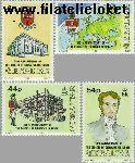 Gibraltar gib 646#649  1992 Diaconessen Gibraltar  Postfris