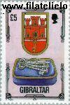 Gibraltar gib 694#  1994 Architectonisch erfgoed  Postfris