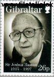 Gibraltar gib 813#  1997 Hassan, Sir Joshua  Postfris