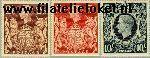 Groot-Brittannië grb 212#214+228#30  1937 Koning George VI  Postfris