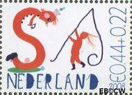 Nederland NED 2608f  2008 Laat kinderen leren 44+22 cent  Gestempeld