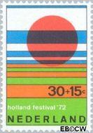 Nederland NL 1005  1972 Holland Festival 30+15 cent  Gestempeld