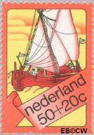 Nederland NL 1029  1973 Schepen 50+20 cent  Gestempeld