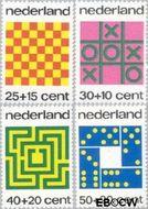 Nederland NL 1038#1041  1973 Spelletjes  cent  Postfris
