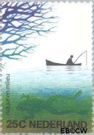 Nederland NL 1045  1974 Natuur en milieu 25 cent  Gestempeld