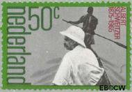 Nederland NL 1074  1975 Schweitzer, Albert 50 cent  Gestempeld