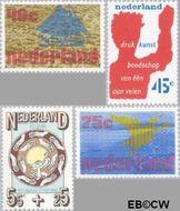 Nederland NL 1094#1097  1976 Diversen  cent  Gestempeld