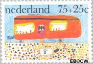 Nederland NL 1106  1976 Kindertekeningen 75+25 cent  Gestempeld