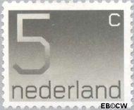 Nederland NL 1108  1976 Cijfer type 'Crouwel' 5 cent  Postfris