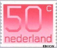 Nederland NL 1113a  1979 Cijfer type 'Crouwel' 50 cent  Gestempeld