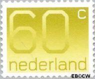 Nederland NL 1115  1981 Cijfer type 'Crouwel' 60 cent  Gestempeld