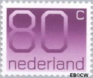 Nederland NL 1118  1991 Cijfer type 'Crouwel' 80 cent  Postfris