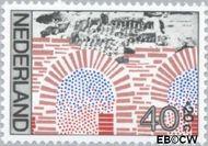 Nederland NL 1133  1977 Archeologische vondsten 40+20 cent  Gestempeld