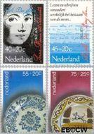 Nederland NL 1153#1156  1978 Cultuurschatten  cent  Gestempeld