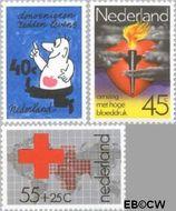 Nederland NL 1161#1163  1978 Gezondheidszorg  cent  Gestempeld