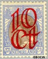 Nederland NL 119  1923 Opruimingsuitgifte 10#17½ cent  Postfris