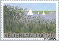 Nederland NL 1196  1980 Landschappen 60+25 cent  Gestempeld