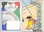 Nederland NL 1202#1203  1980 Sport  cent  Gestempeld