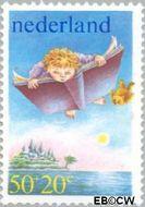 Nederland NL 1211  1980 Kind en boeken 50+20 cent  Gestempeld